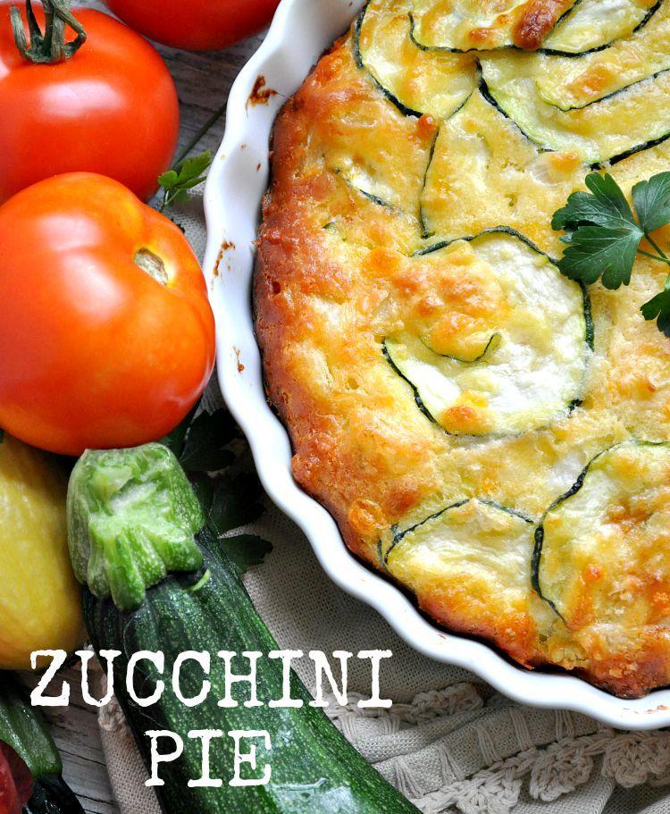 zucchini pie rezept vegetarian recipes gem se backen und rezepte. Black Bedroom Furniture Sets. Home Design Ideas