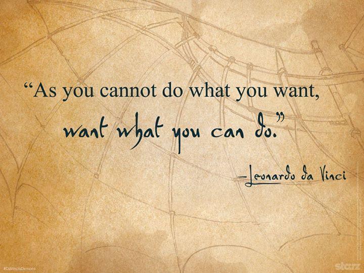 Da Vinci Quote Da Vinci's Demons Pinterest Da Vinci Quotes Inspiration Da Vinci Quotes