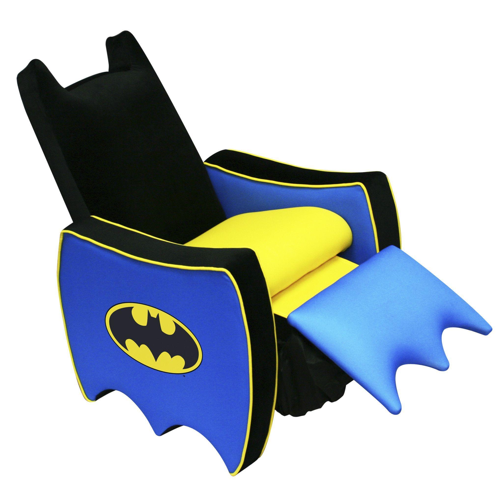 Batman Kids Icon Recliner Chair