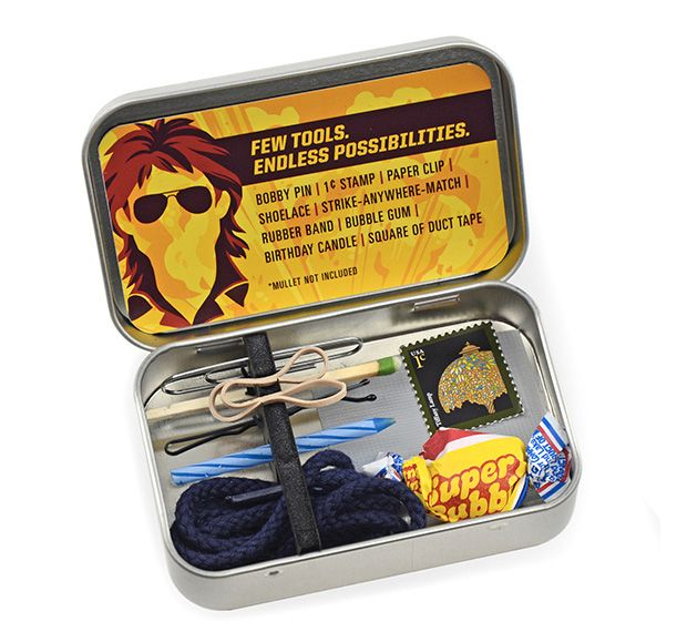 Macgyver Emergency Toolkit Tools White Elephant Gifts