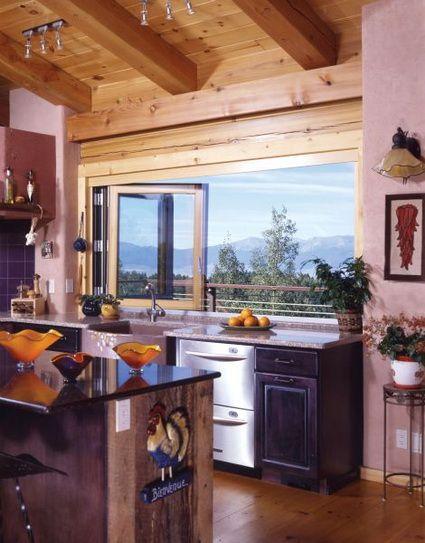Cocinas con mucha luz natural | Luz natural, Grandes ventanas y Ventana