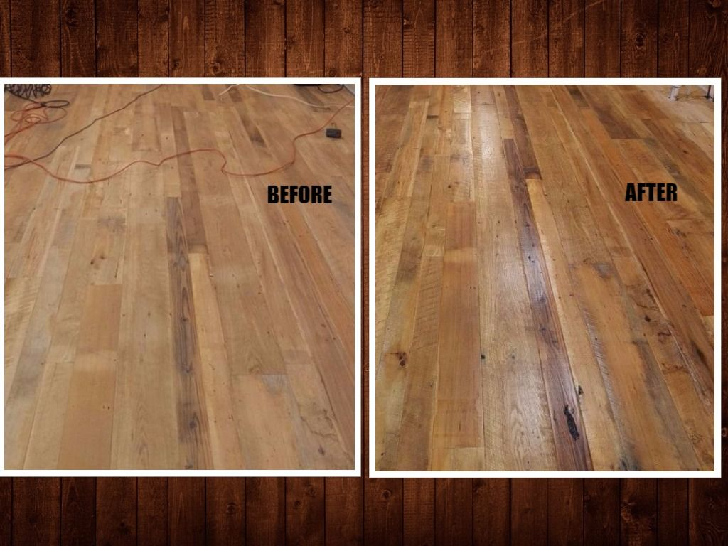 Flooring Reclaimed Hardwood