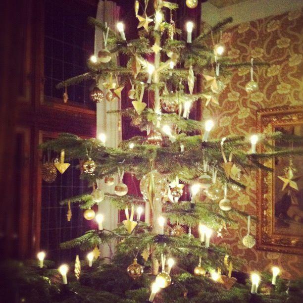 Old Fashioned Christmas Tree Christmas Pinterest