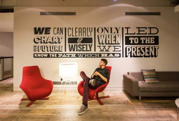 Sony HQ London – A graphic timeline design | Ideas To Steal