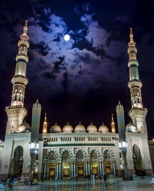 Al Msjid An Nabawi Al Madina Al Munawara Mosque Architecture Masjid Beautiful Mosques