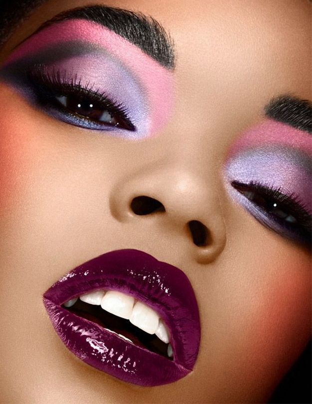 The Best Of Wedding On The Web Purple Makeup Dramatic Makeup Eye Makeup