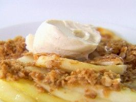 Pear Ginger Crumble from CookingChannelTV.com