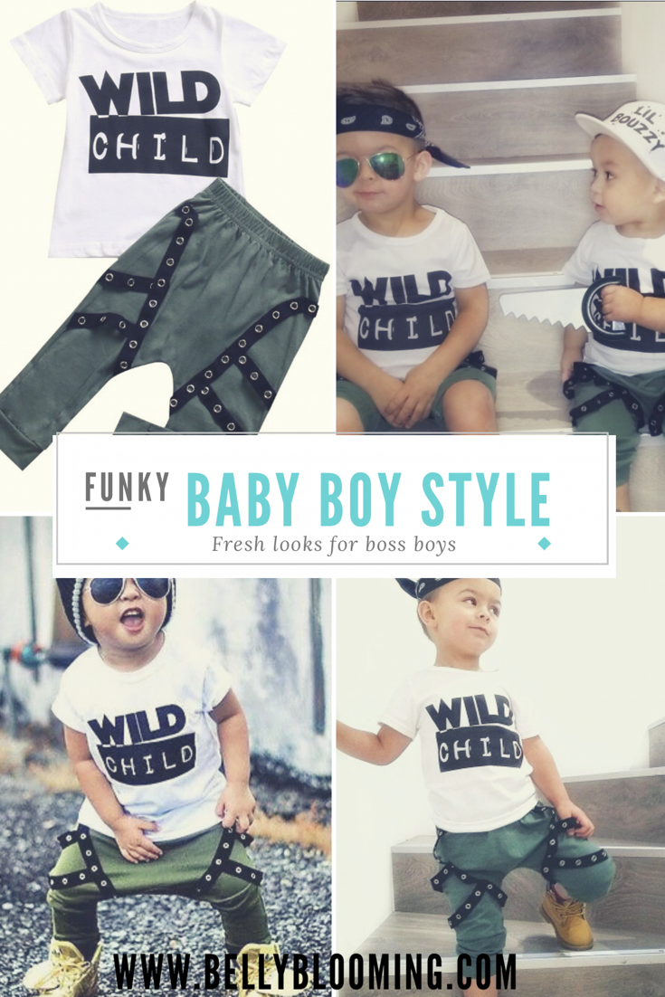 Baby Boy Boys Fashion Boys Clothes Boss Boy The Funkiest Co