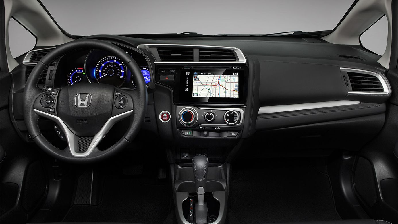 Official Site Honda Fit Honda Fit Interior 2016 Honda Fit
