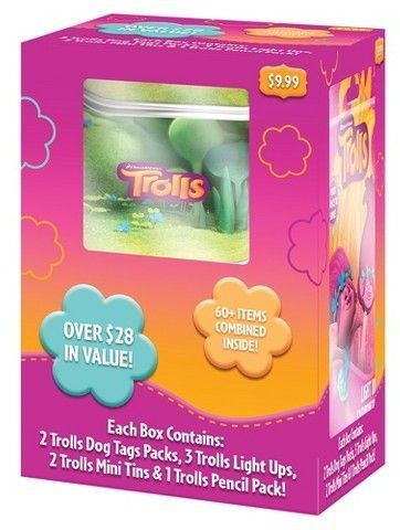 Trolls Value Box Collectible Trading Cards Products Pinterest