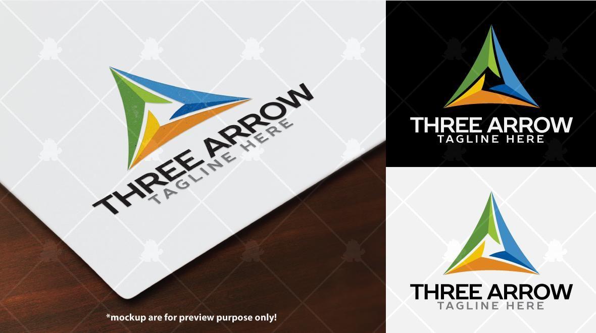 Three Arrow Logo Template