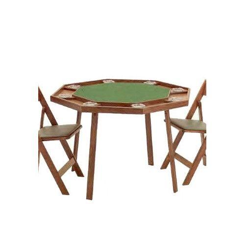 Kestell Furniture Compact Folding Poker Table Folding Poker Table Poker Table Game Room Furniture