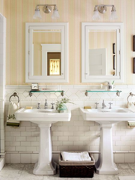 House Tour How To Give A Historical House New Life Pedestal Sink Bathroom Bathrooms Remodel Bathroom Inspiration