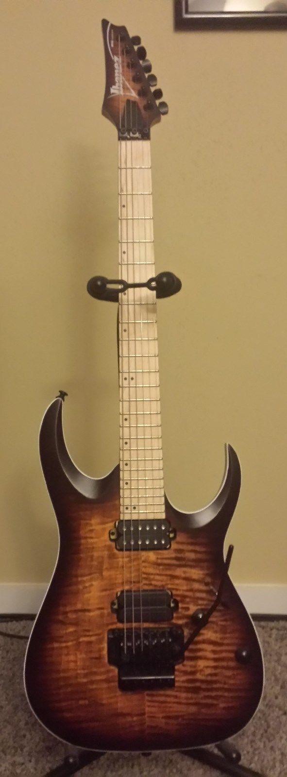 Ibanez RGAR42MFMT Electric Guitar Flat Dragon Eye Burst W