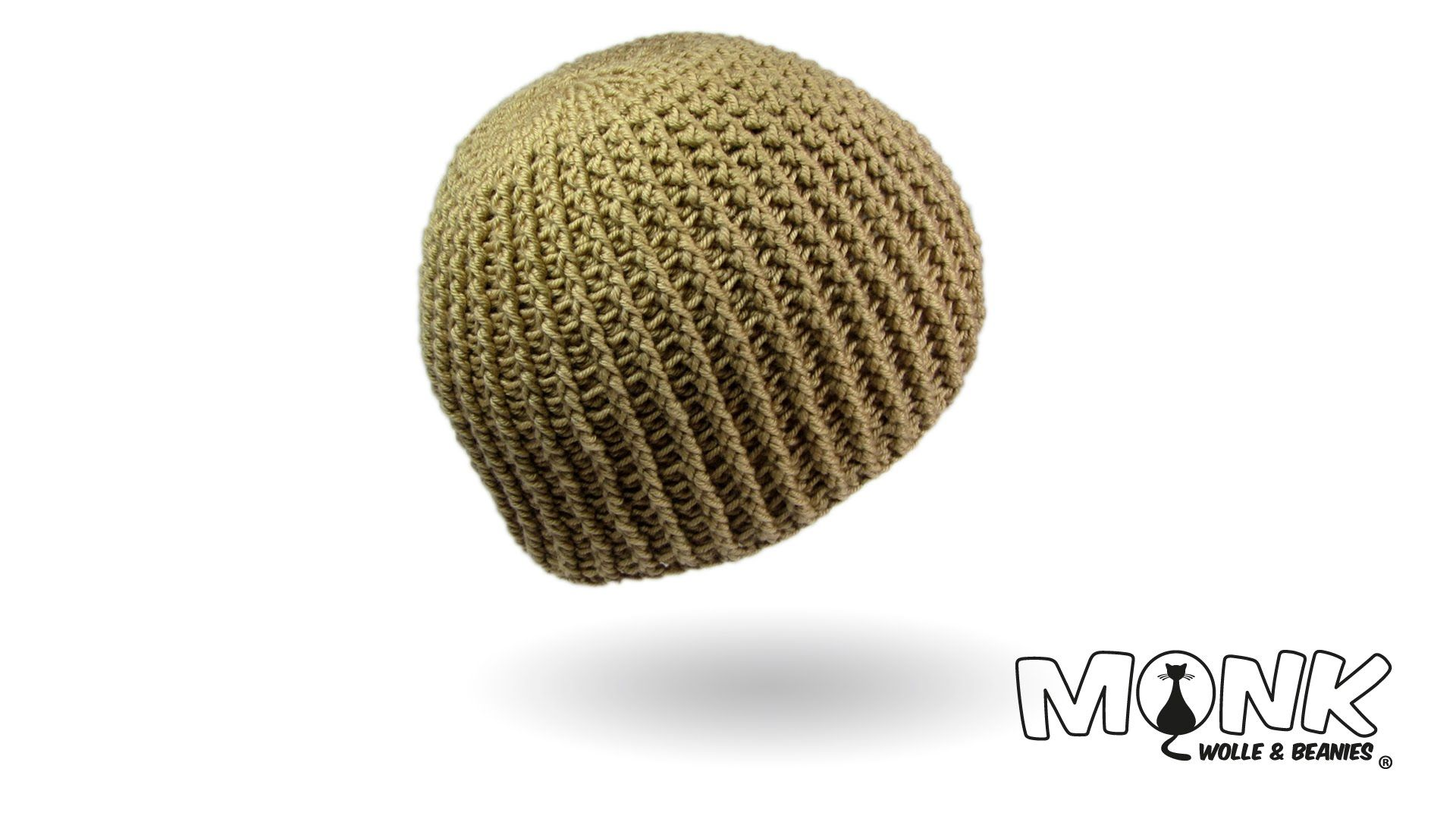 Mütze häkeln im Rippenmuster - Ribbed Beanie häkeln | Crochet Skirts ...