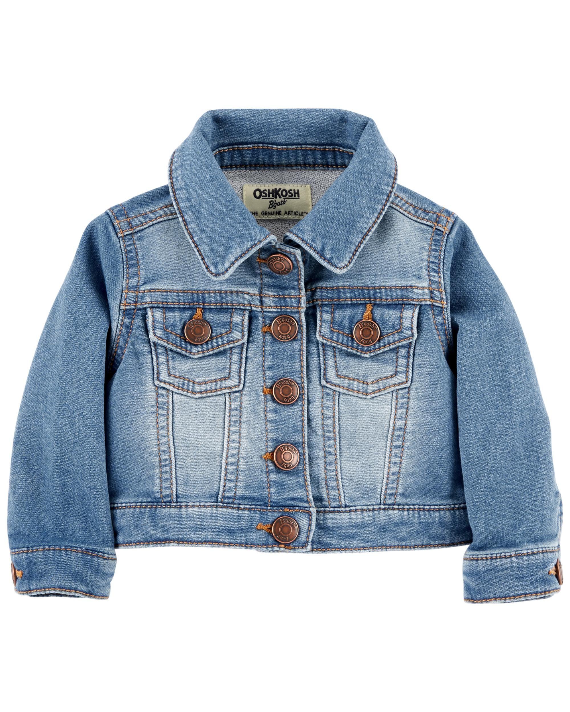 Classic Denim Jacket Boy Outerwear Carters Baby Clothes Denim Jacket [ 2500 x 2000 Pixel ]