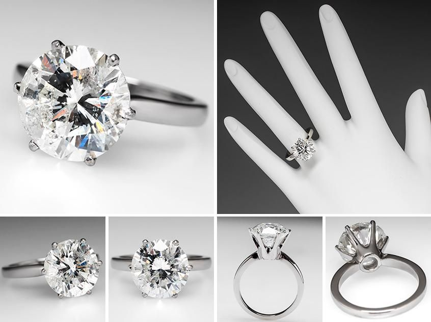 7f999eaf74666 This 4.5 carat ring costs $18,499.00. Wow. | true love | Engagement ...