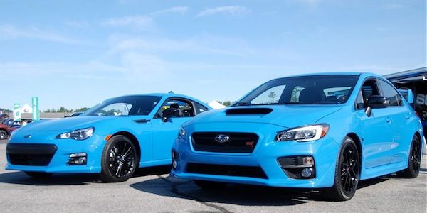 the subaru brz and wrx sti series hyperblue is a special edition that adds some paint cars i. Black Bedroom Furniture Sets. Home Design Ideas