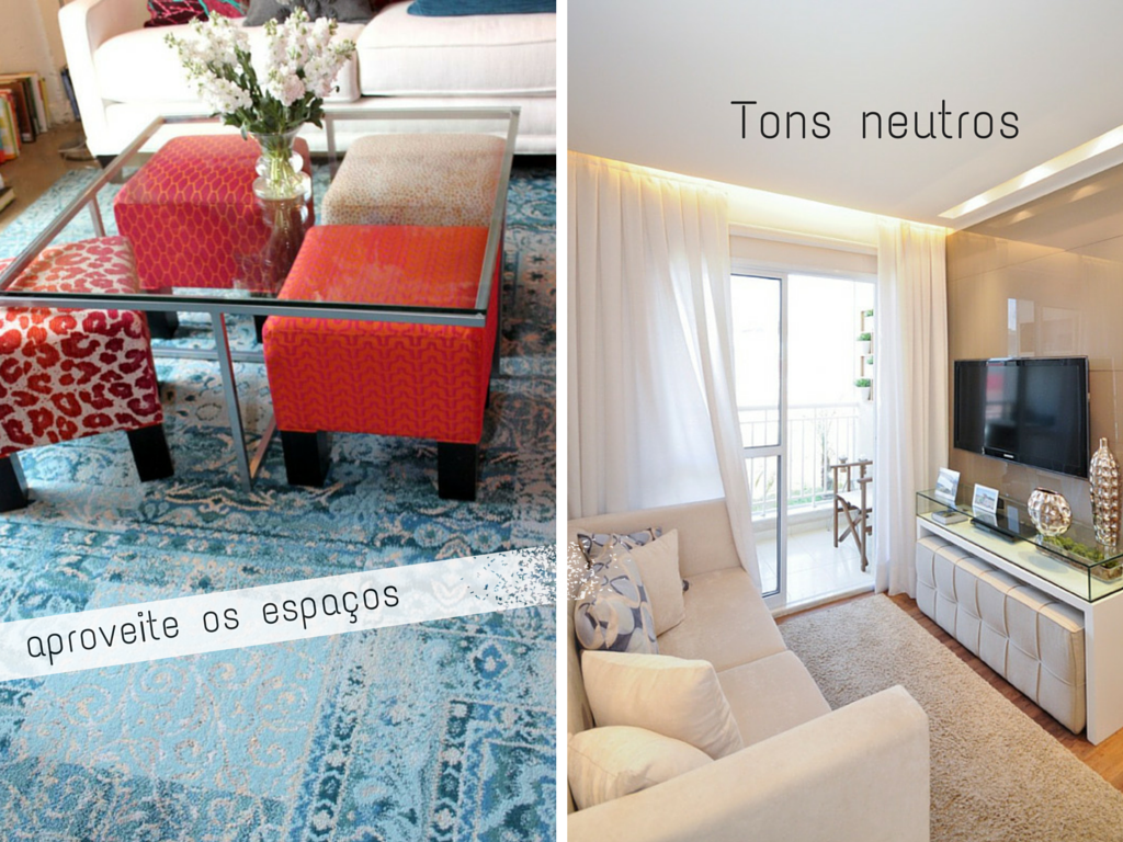 Sala pequena dicas para decorar com estilo salas for Sala de estar estilo arabe