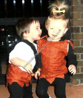 Coolest Homemade Pebbles and Bam Bam Toddler Costume Ideas #pebblesandbambamcostumes Homemade Pebbles and Bam Bam Toddler Costume Ideas... This website is the Pinterest of costumes #pebblesandbambamcostumes