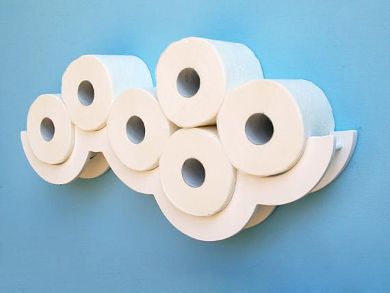 Toilet Paper Shelf White Cloud Toilet Paper Holder Diy Toilet Paper Holder Toilet Paper