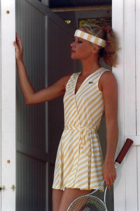 cheap for discount a753f 59c30 With the start of the US Open, I m brushing up on the history of tennis—specifically  the fashion history. I took a deep dive into the archives of French ...