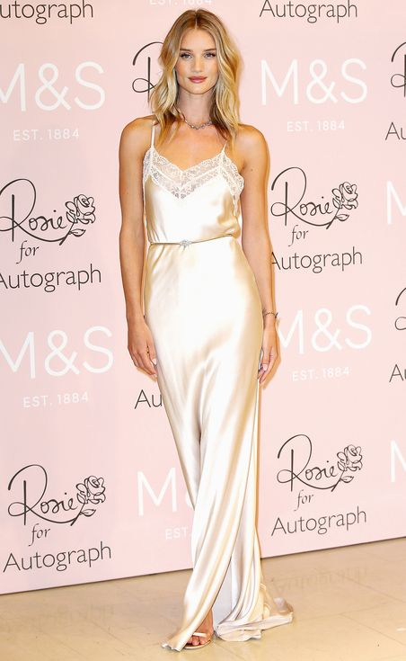 539dfa491c0be 11 Ways Celebs are Rocking Slip-Dresses | People - Rosie Huntington-Whiteley  in