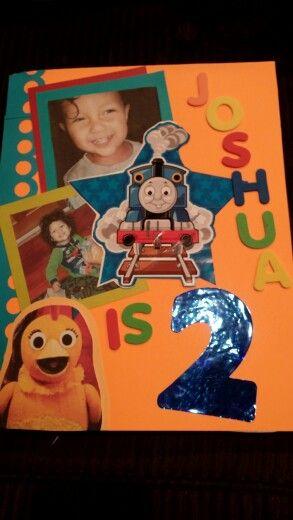Joshs Birthday Card For Sprout Random Crafts Pinterest