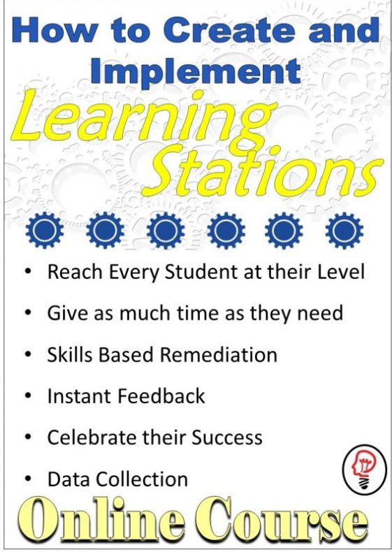 How to Create and Implement Learning Stations - Online ...