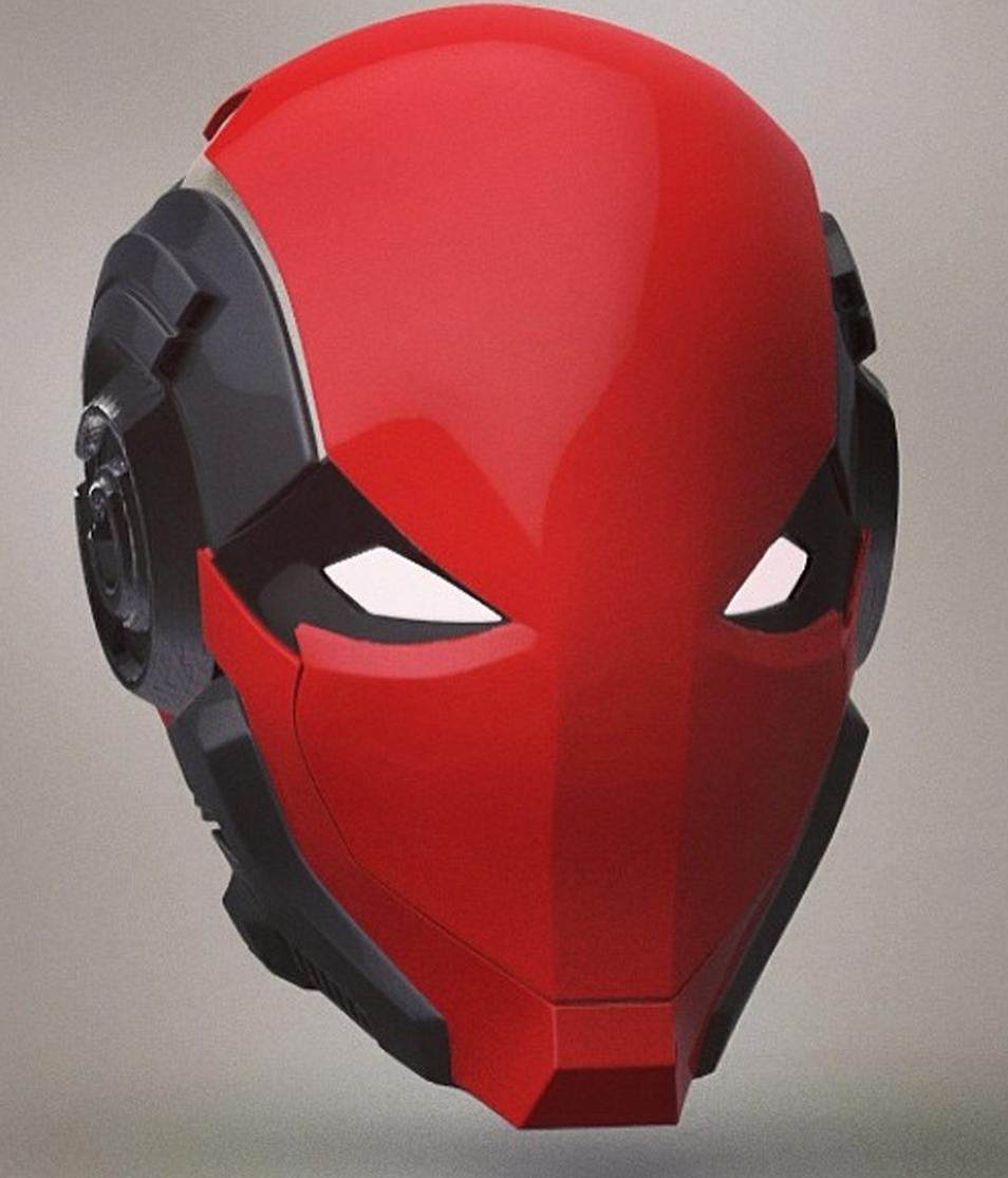 red hood helmet - Google Search