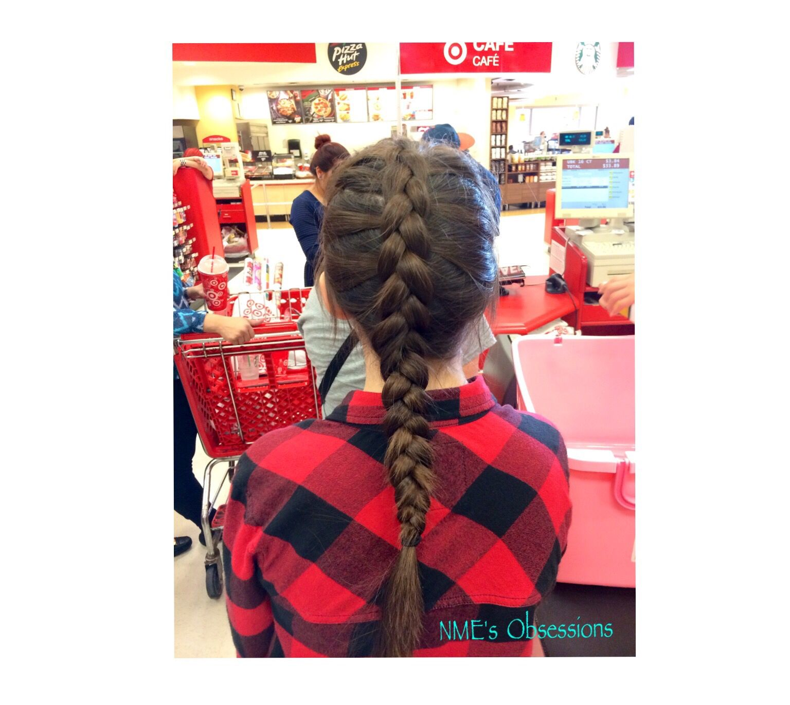 I'm in target but I loved my hair this day!
