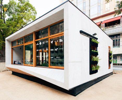 Diseño casa autosustentable, vivienda consume menos energía que la
