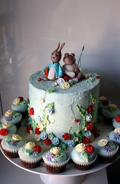 Le Cake Artist : Peter Rabbit Birthday Party on Pinterest Peter Rabbit ...