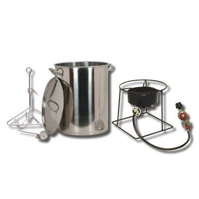 king kooker turkey fryer with stainless steel pot ss 1267
