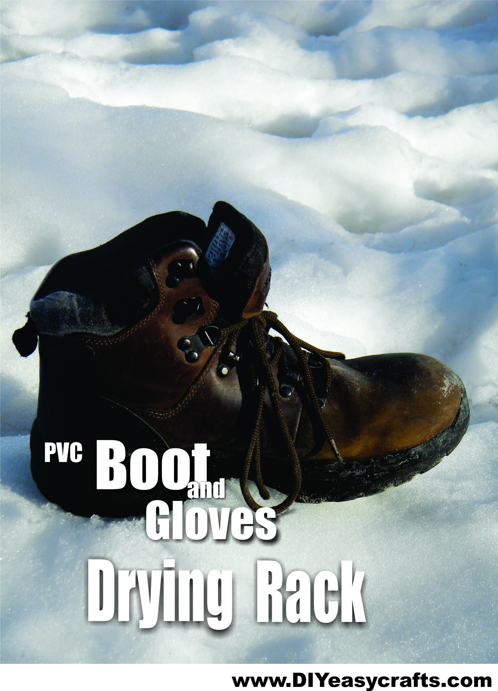 Diy pvc boot and glove drying rack diyeasycrafts diy diy easy pvc boot and glove drying rack anyone that works or plays outdoors in the winter can benefit from this boot and gloves dryer solutioingenieria Images