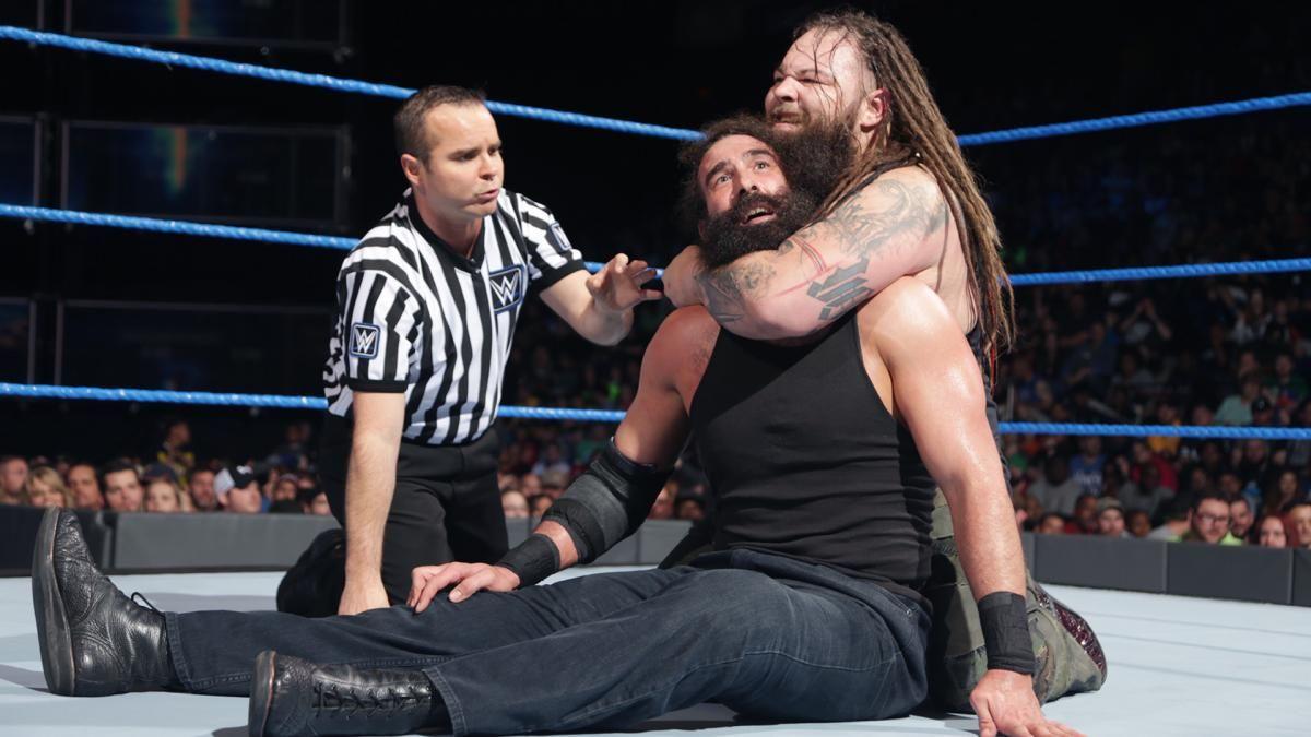 Luke Harper vs. Bray Wyatt: Fotos