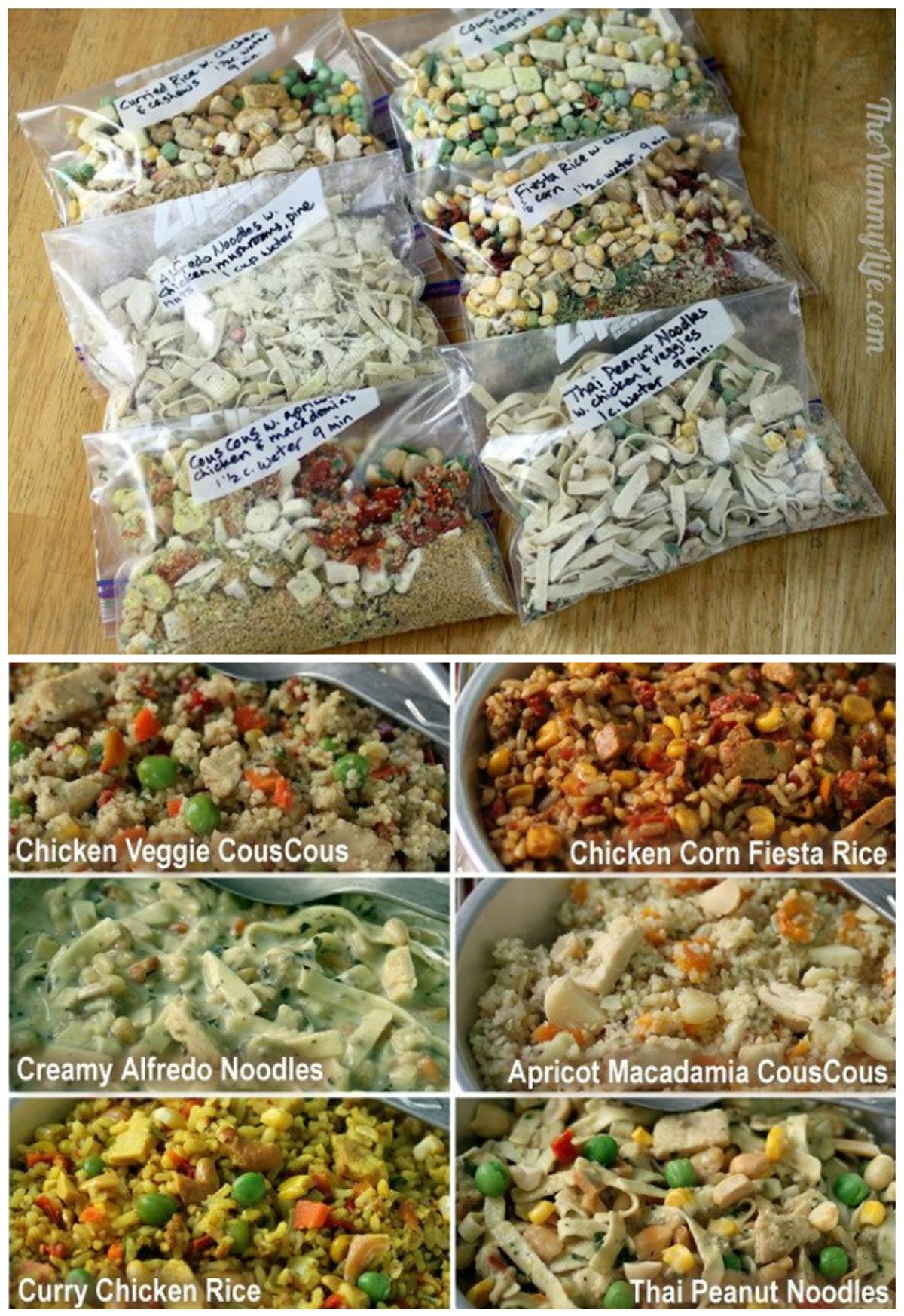 Wohnmobil Küche Rezepte 6 Instant Meals For Backpacking Just Add Boiling Water