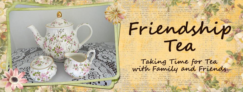 Friendship Tea Website With Lots Tea Menus From Various Tea Rooms