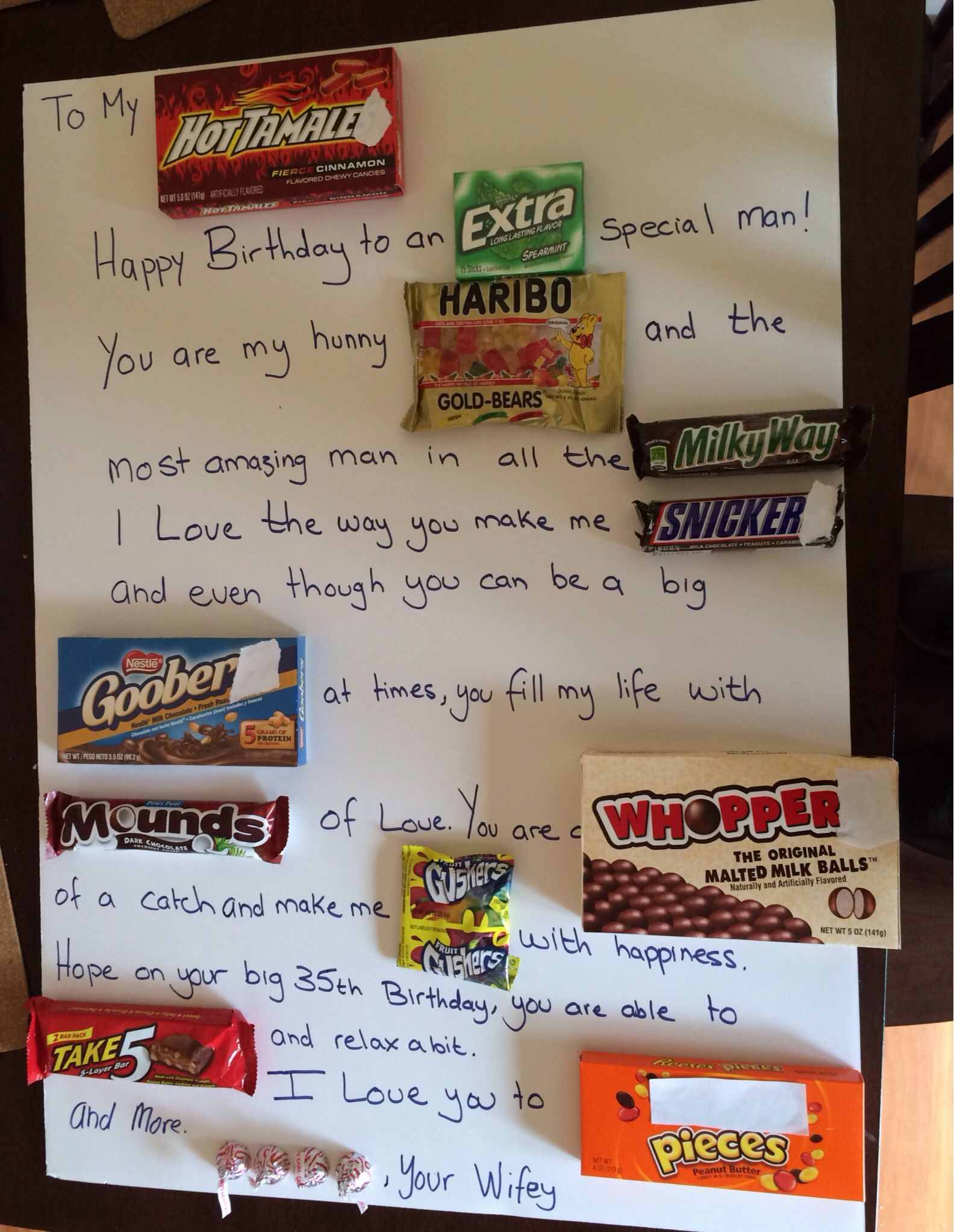 Pin By Kathrin Marienfeld Homnack On My Creations Candy Poster Birthday Candy Candy Bar Birthday