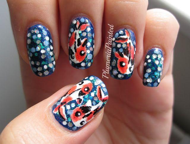 PlumeriaPainted: Koi Nail Art | Nail Arts Around The World ...
