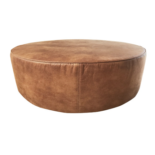 Home Image By Joan Greger In 2020 Faux Leather Ottoman Leather