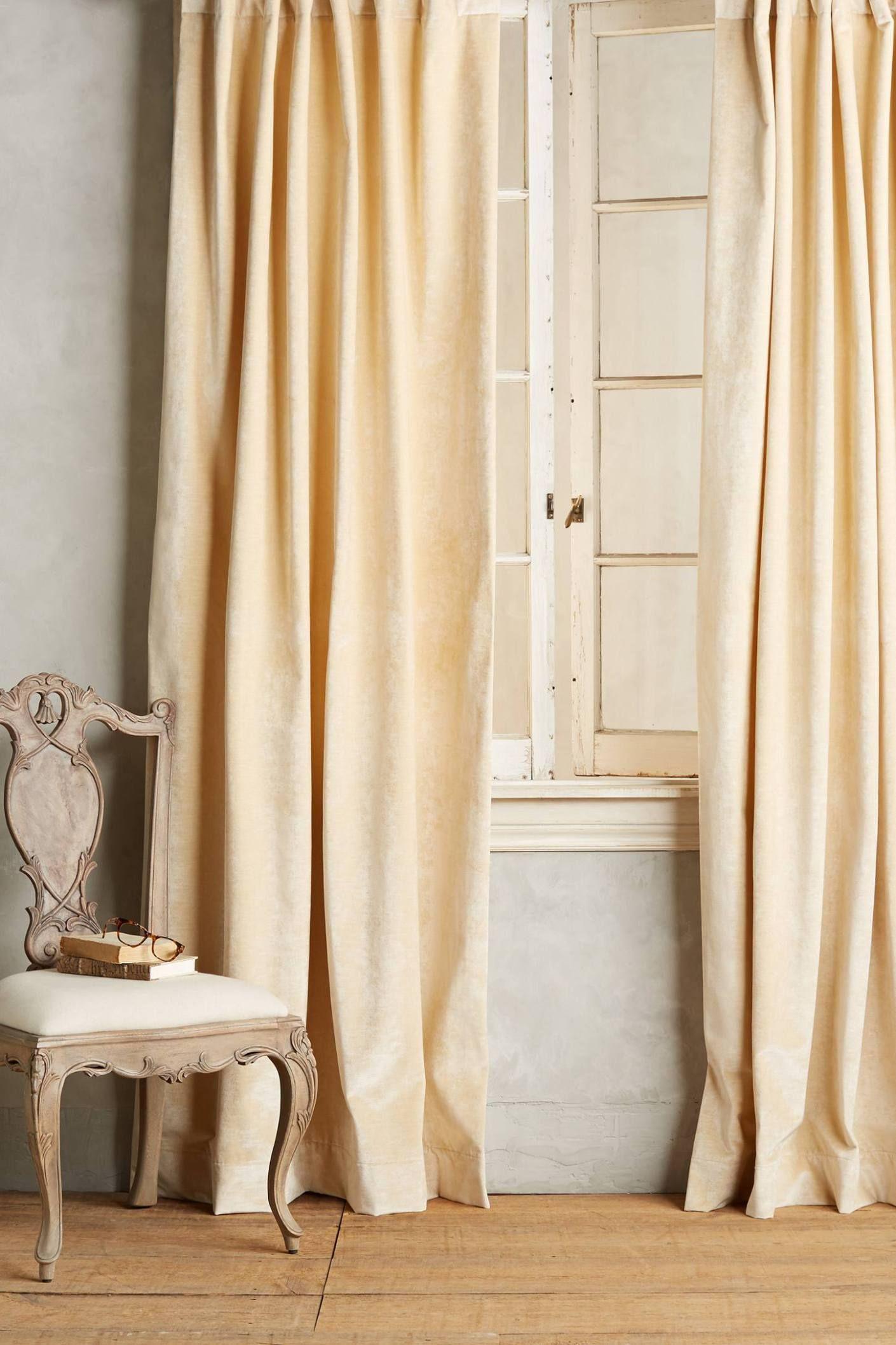Anthropologies New Arrivals Velvet Curtains  Topista