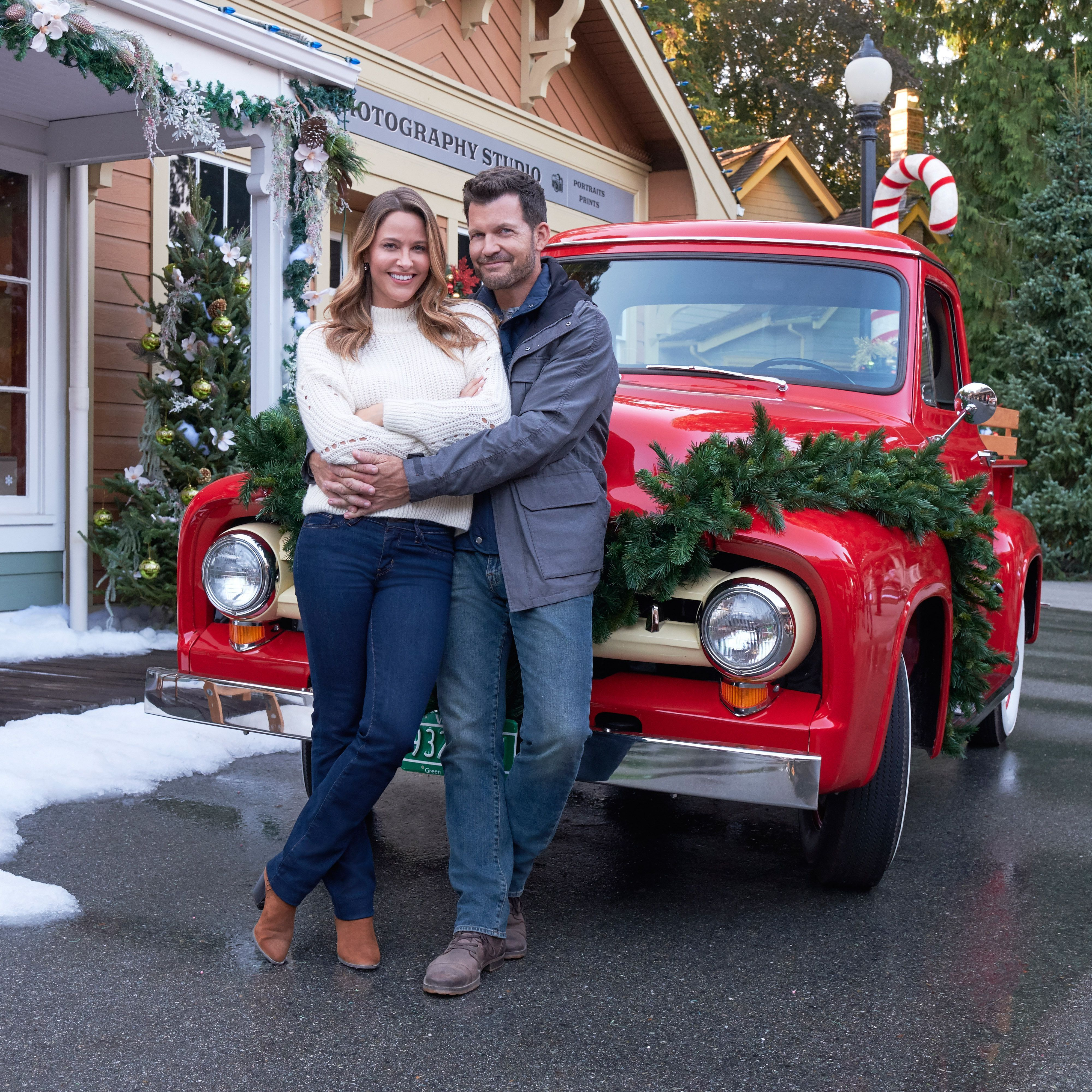 This Hallmark Christmas Movie Set Is a Historic Village