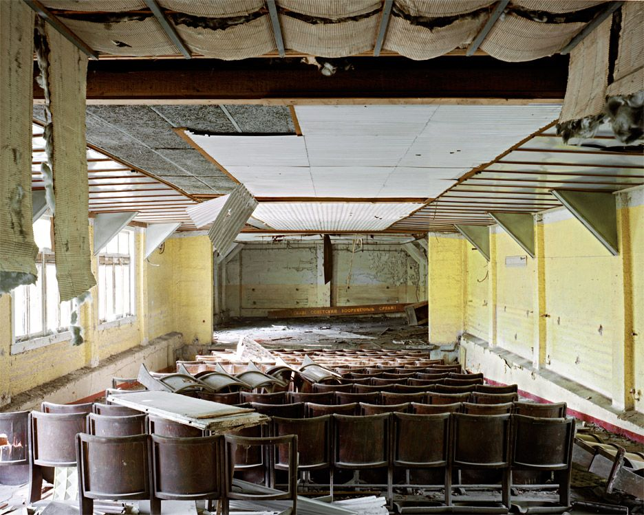 The decaying architecture of the Soviet Union is the subject of an exhibition at the Calvert 22 Foundation in London.