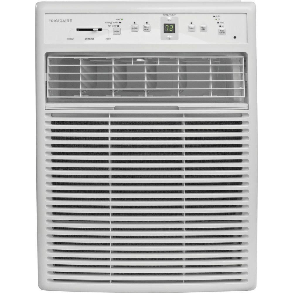 Frigidaire 10 000 Btu 115 Volt Room Window Air Conditioner With Full Function Remote Control Ffrs1022r1 Window Air Conditioner Small Window Air Conditioner Casement Windows