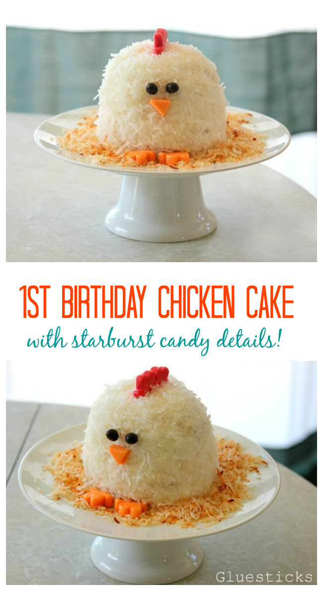 A Chicken Cake That Is As Delicious It Cute The Perfect Little For First Birthday Would You Believe Details Are Made Out Of