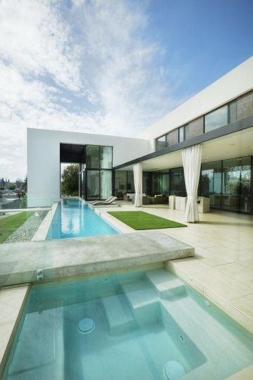 Modern house design inside outside by mark dziewulski also rh in pinterest