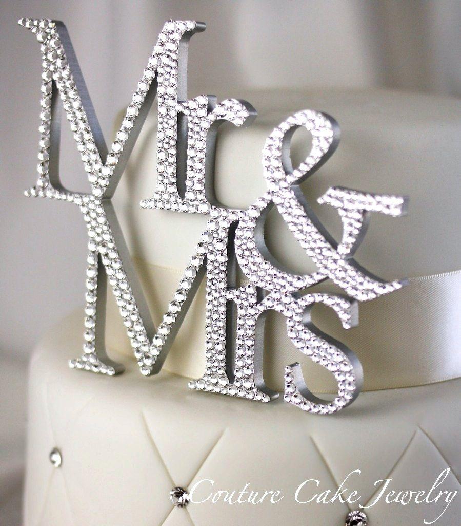 Mr & Mrs Cake Topper   Love & Marriage   Pinterest   Wedding ...