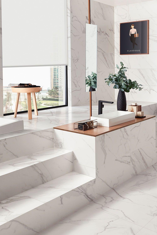 Entdecke Fliesen in Marmor Optik Marmoroptik marble