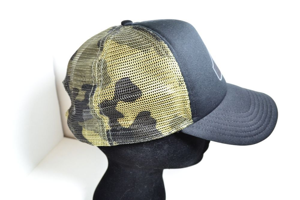 37f5feaee81  Quiksilver  Camo  Snapback  Trucker  Mesh  Hat  Surf  Skate  Party for  sale in my ebay store